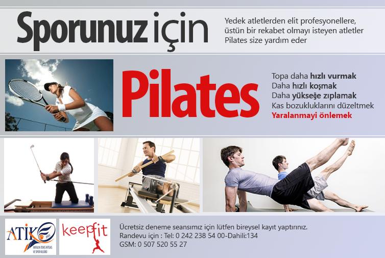 Profesyonel Sporcular için Pilates